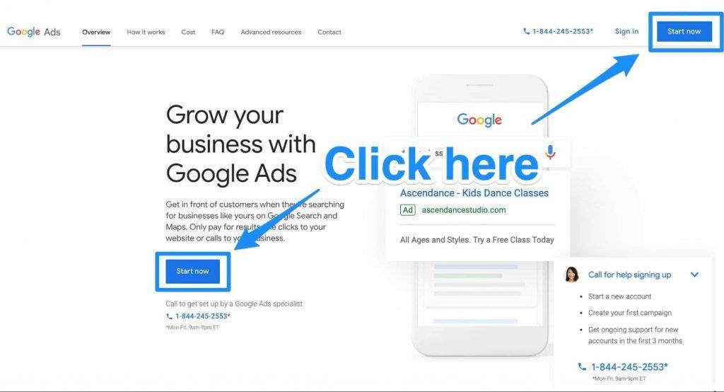 شروع بازاریابی دیجیتال در گوگل