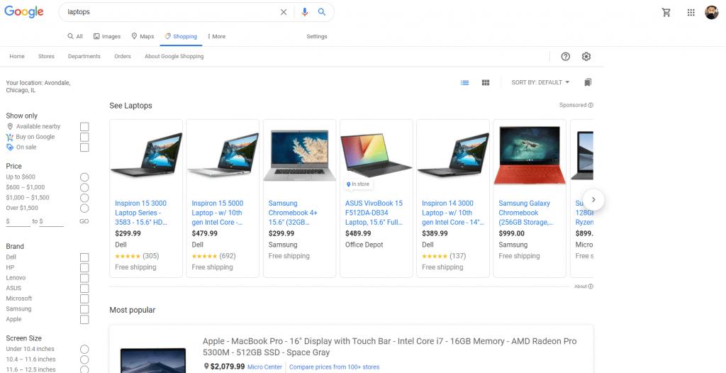 کمپین فروشگاهی گوگل ادز