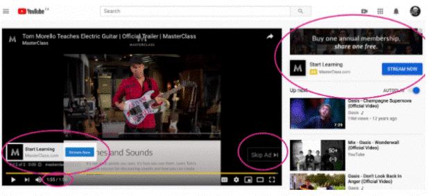 کمپین ویدئویی در تبلیغات گوگل