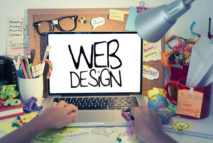 طراحی یک وب سایت به نرم افزار