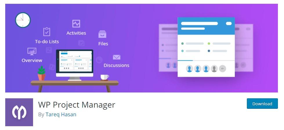 افزونه WP Project Manager