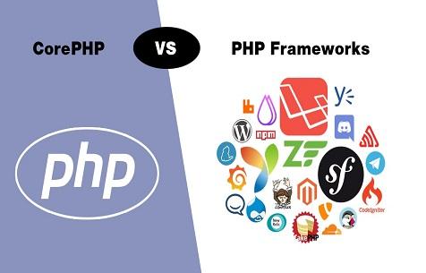 انواع فریم ورک های php